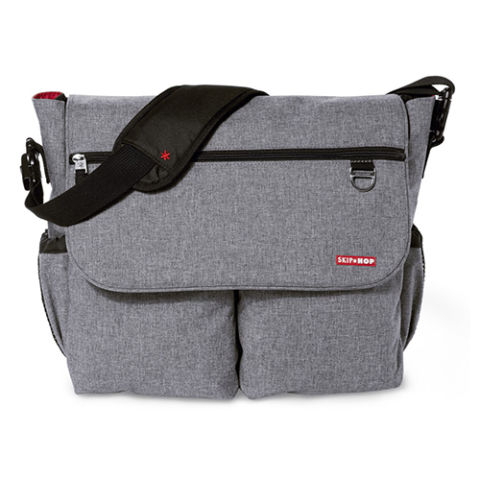 skiphop-dash-signature-diaper-bag-heather-gray