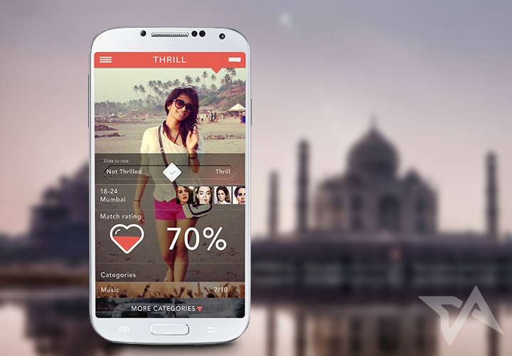 Dating app based on movies