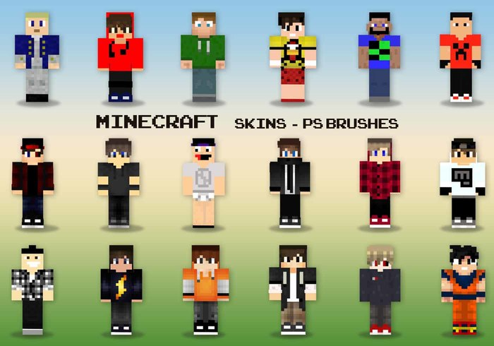 20-minecraft-skins-ps-brushes